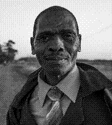 image of an older man with a tie